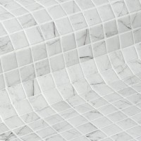 ZEN Glass mosaic 25x25mm (plato 31,2x49,5) (bal.= 2 m2) (CARRARA)